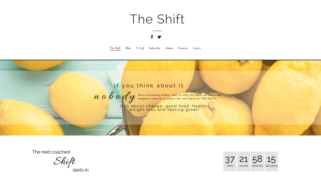 The Shift - Metabolic reset