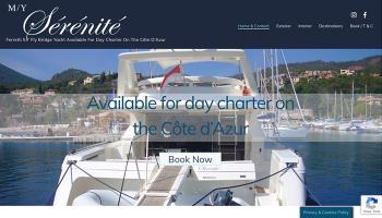 Yacht Charter Serenite